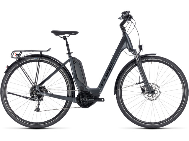 Cube Touring Hybrid ONE 400 Easy Entry Iridium'n'Black